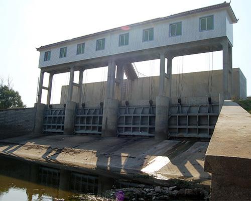 大东口电排出水闸